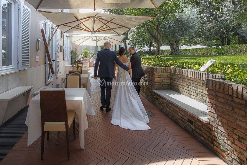 Kolbe Hotel Rome sposi 1