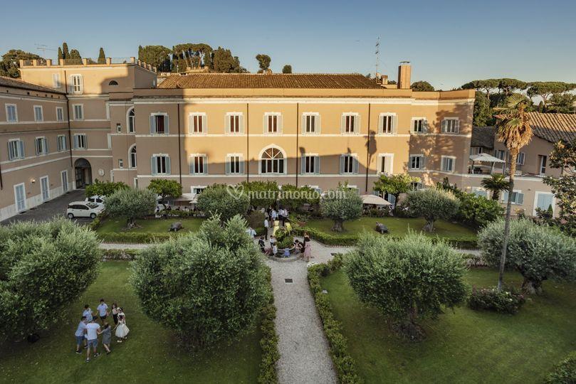 Kolbe Hotel Rome giardino