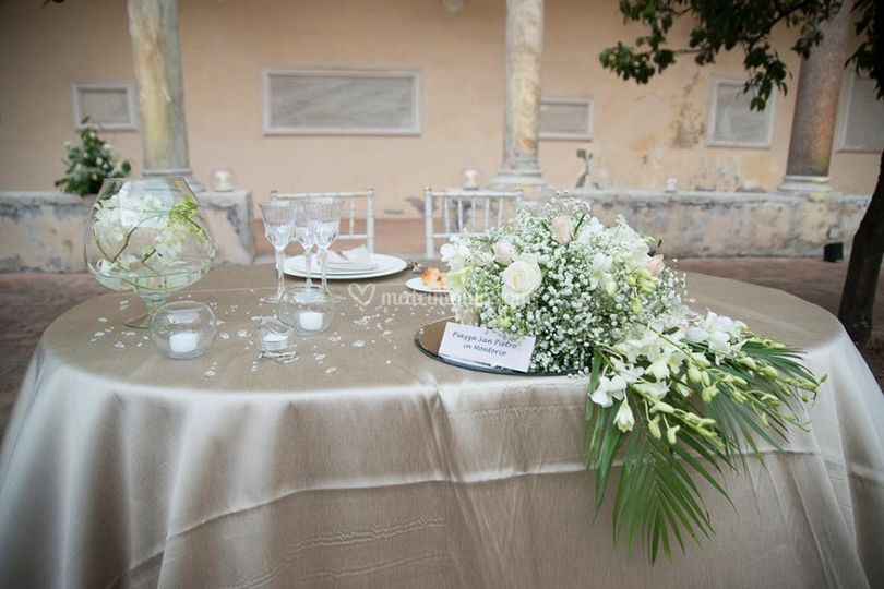 Conosciuto Allestimento esterno di Mediterranea Wedding & Flowers | Foto 62 GU28