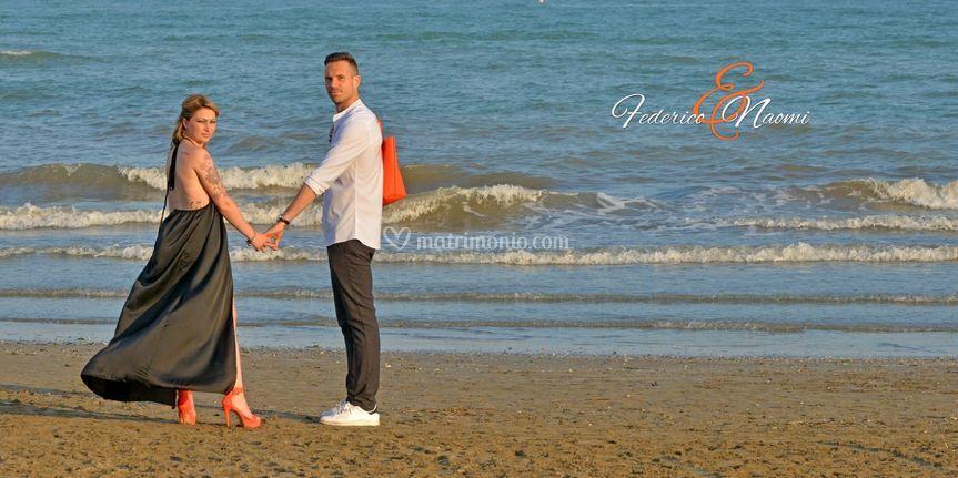Prematrimonio in spiaggia