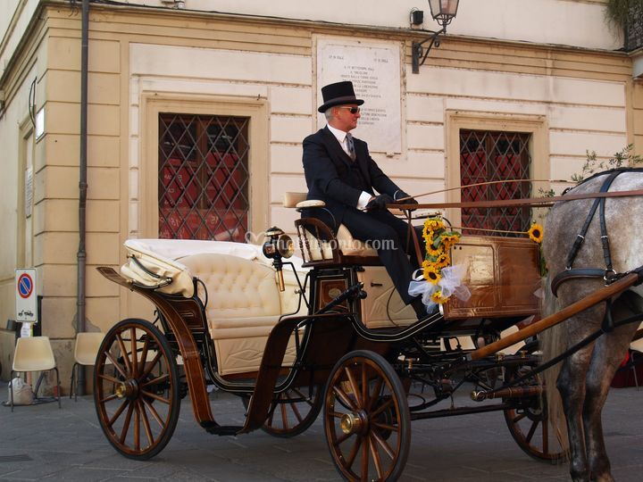 Matrimonio In Carrozza : Matrimonio in carrozza