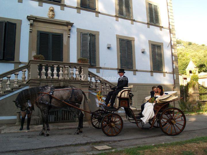 Matrimonio in Carrozza