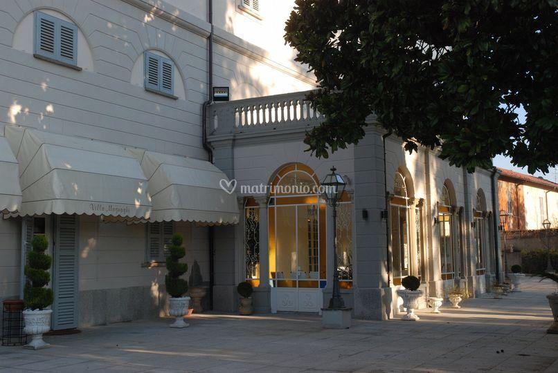 Villa Magnaghi veranda