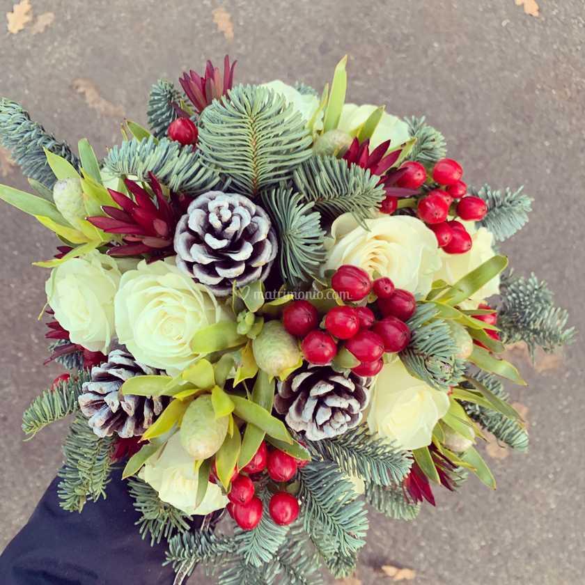 Bouquet Sposa Natalizio.Bouquet Sposa Natalizio Di Al Vilures Flowers Events Foto 86