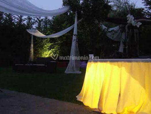 I giardini del sole for Decorazione giardino matrimonio