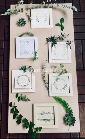 Partecipazioni mood 'botanica'