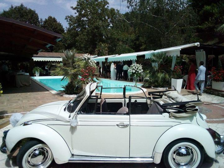 Maggiolone cabrio anni 70