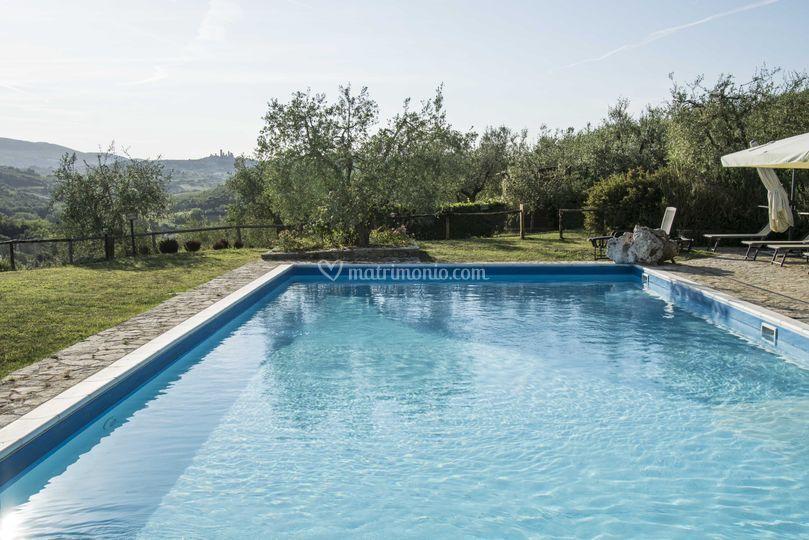 Agriturismo croce di bibbiano - Agriturismo san gimignano con piscina ...