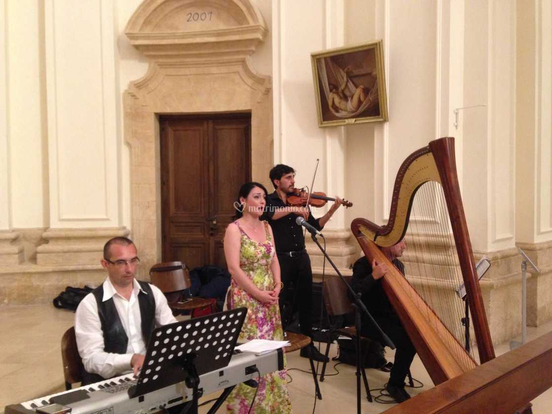 Wedding live music con Arpa