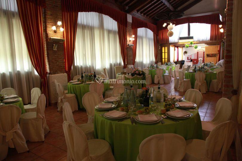 Ristorante per sposi la mangiatoia for Sala degli sposi