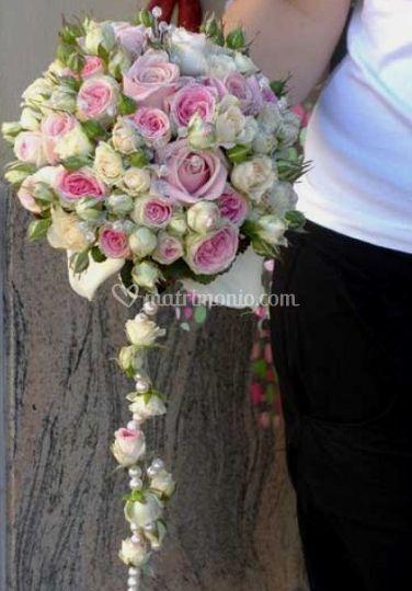 Bouquet con caduta