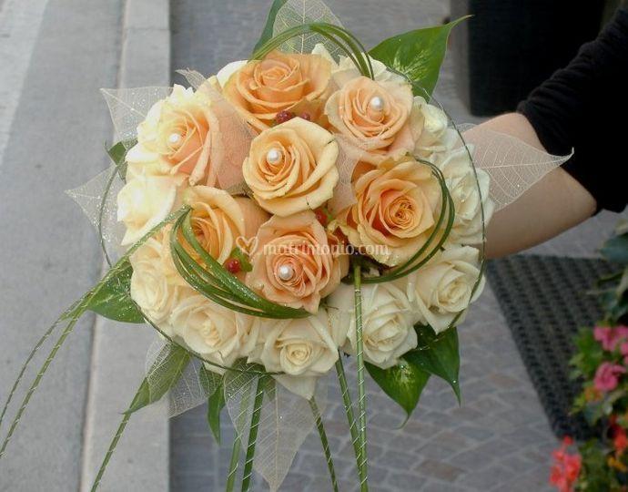 Rose con perle