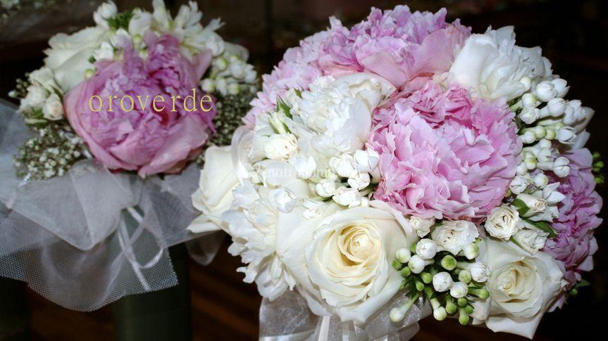 Ortensie e rose