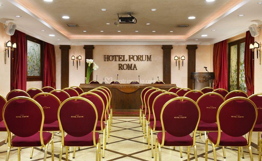 Sala Conferenze a Platea