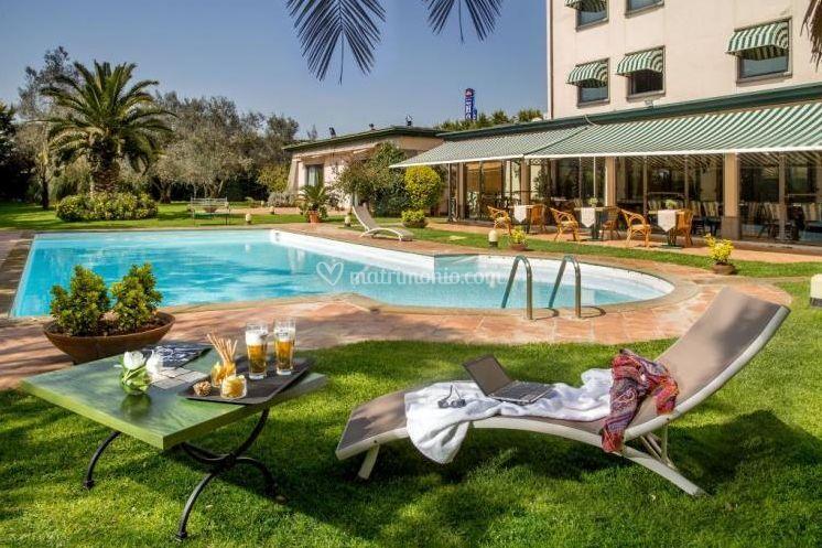 Pubblicazioni Matrimonio Fiano Romano : Sala ricevimenti di best western park hotel foto