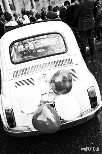 Auto d'epoca nozze pallanza
