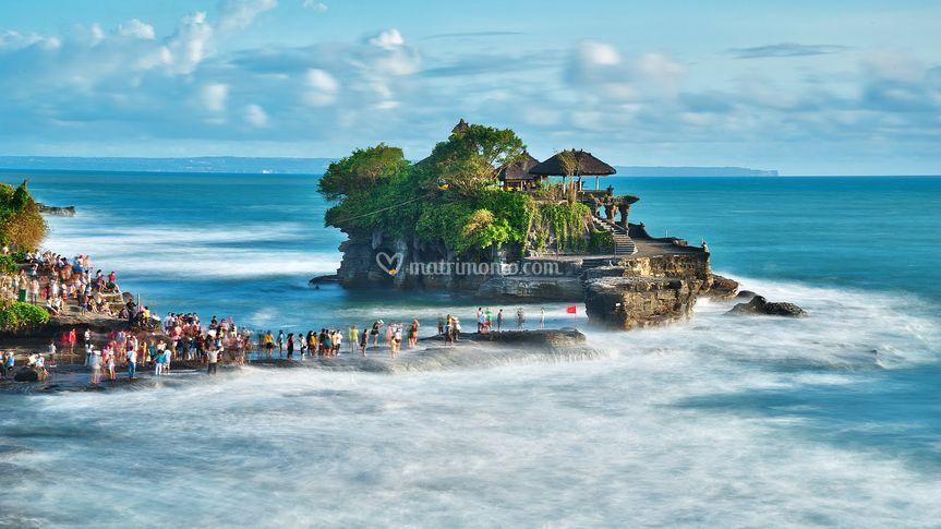 Tanah Lot di Bali