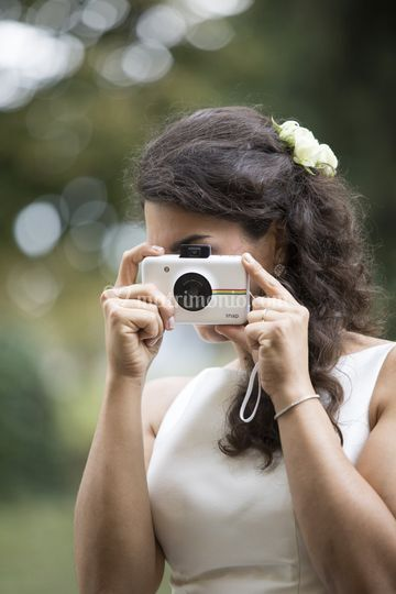 Sposa fotografa la fotografa
