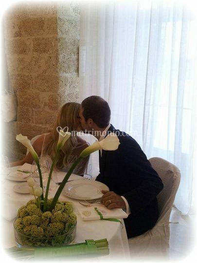 Al tavolo sposi
