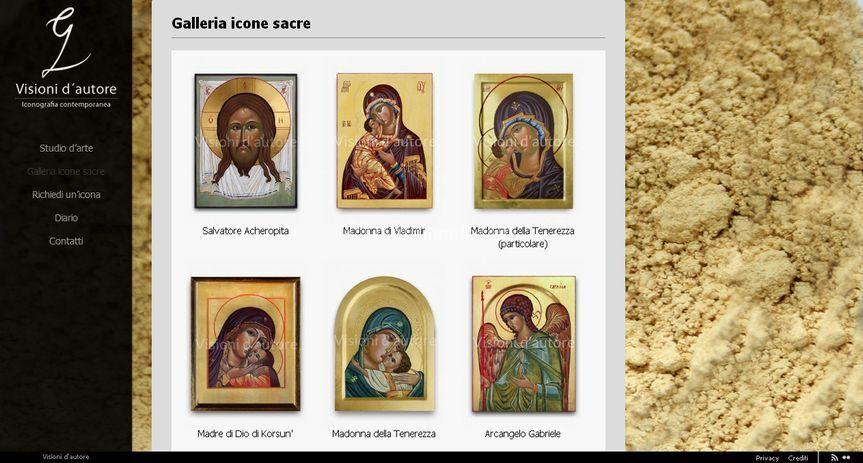 Galleria icone sacre