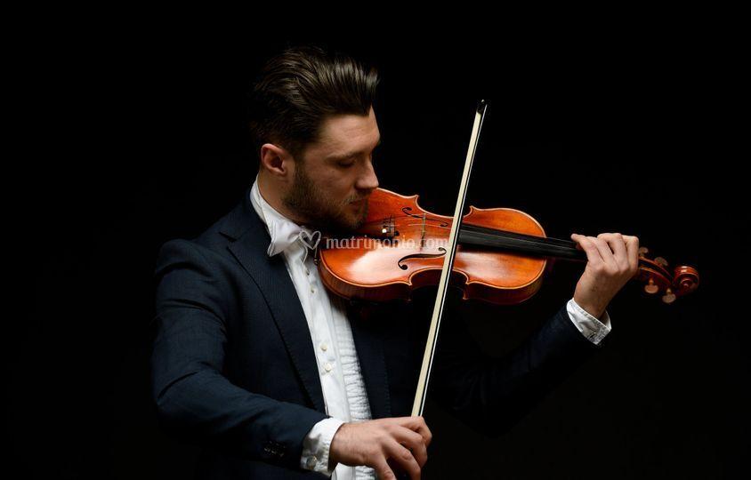 The violin...