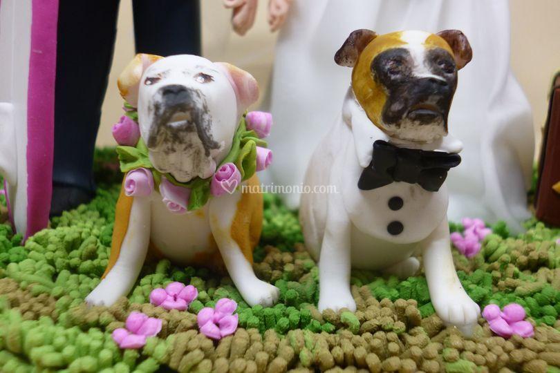 La coppia di cani