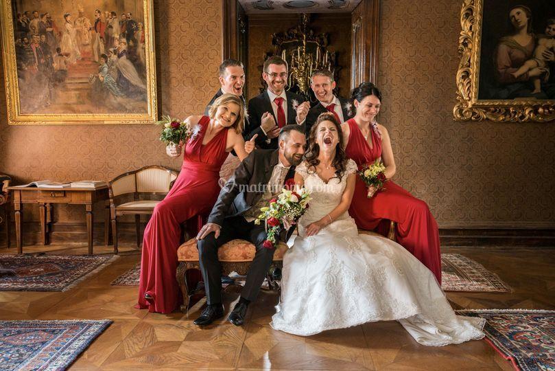 Bridemaid and bestfriends