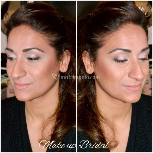 Backstage Make-up Bridal