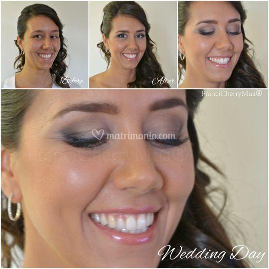 Make-up Bridal Before & After