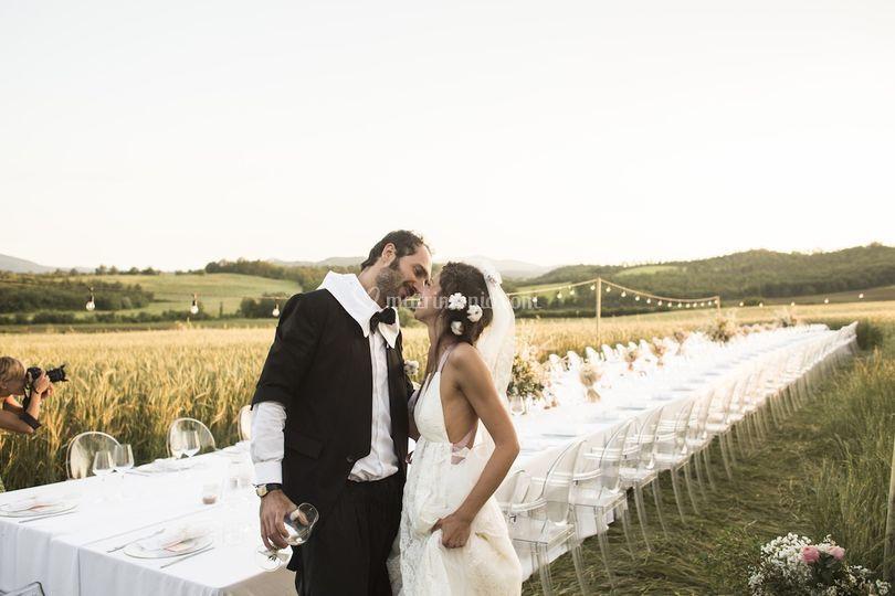 Matrimonio in toscana di Santi Catering