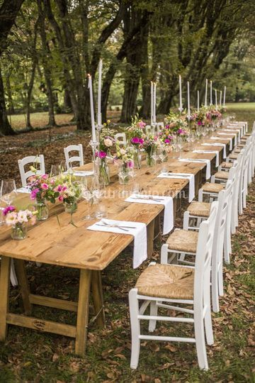 Matrimonio Country Chic Come Vestirsi : Allestimento country chic di santi catering foto