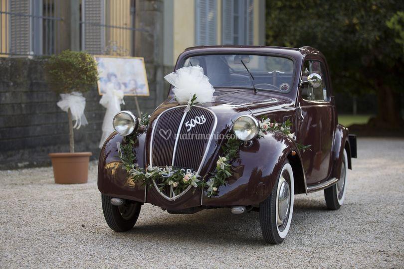 Auto Matrimonio Toscana : Auto d epoca matrimonio sposi