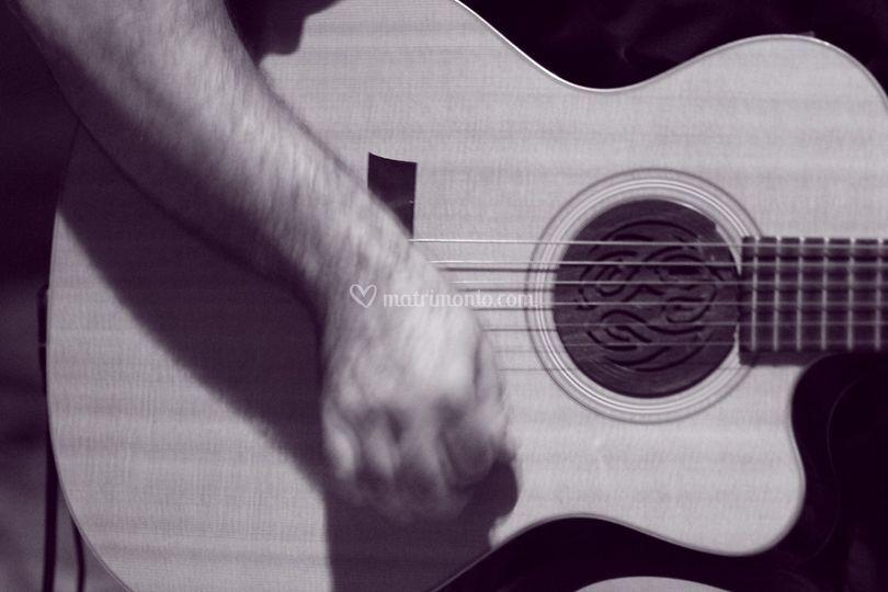 Acoustic guitar in duo o trio