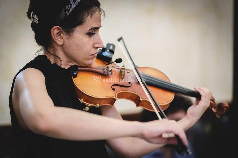Cerimonia con violino