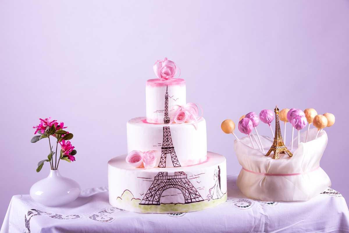 Wedding cake Parigi