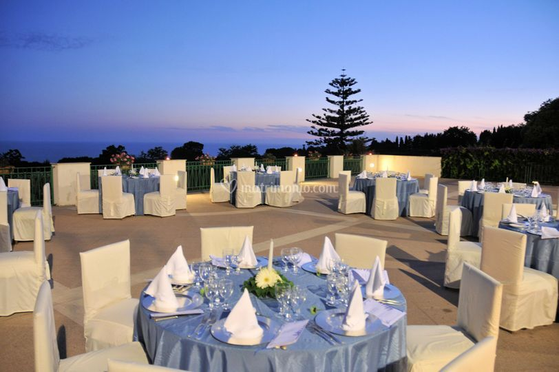 Cena in terrazza di Grand Hotel San Michele | Foto 24
