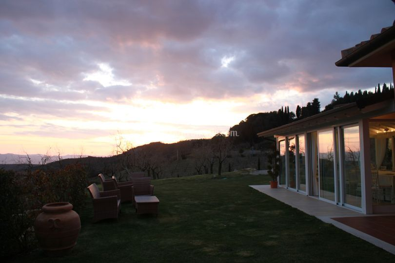 Saletta Stella al tramonto