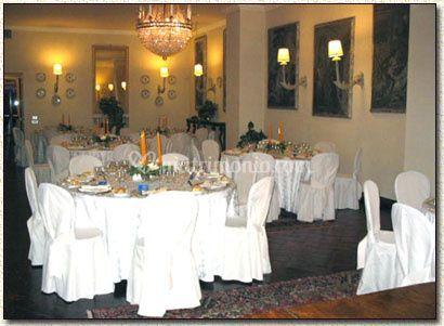 Banchetto tavoli rotondi