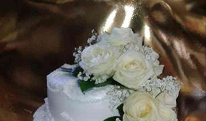 Wedding rose bianche