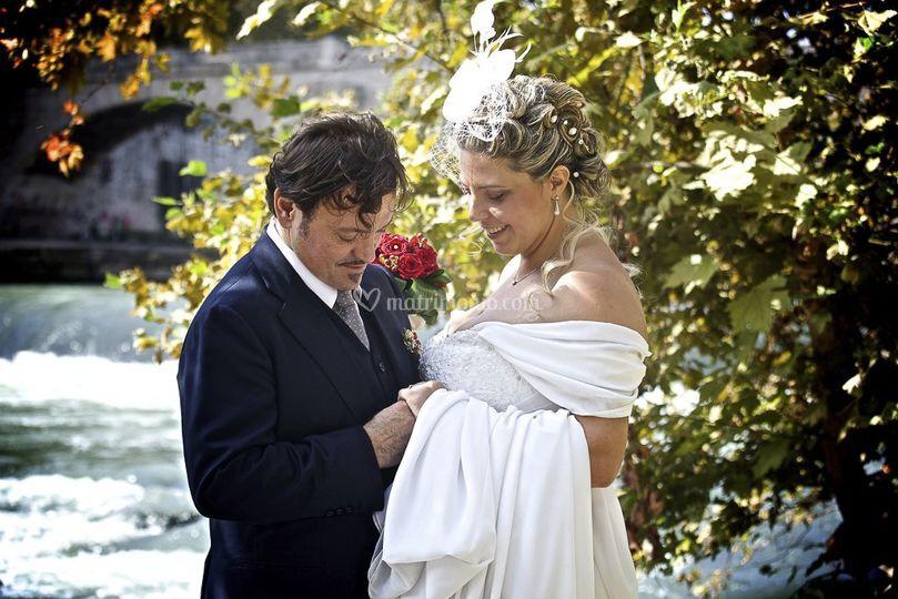 Matrimonio in riva al Tevere