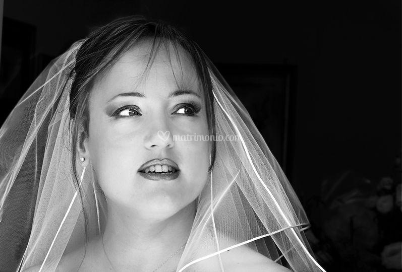 Ritratto spontaneo sposa