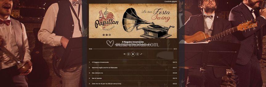 Papillon Vintage Band