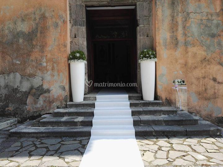 Esterno chiesa di San Masrtino