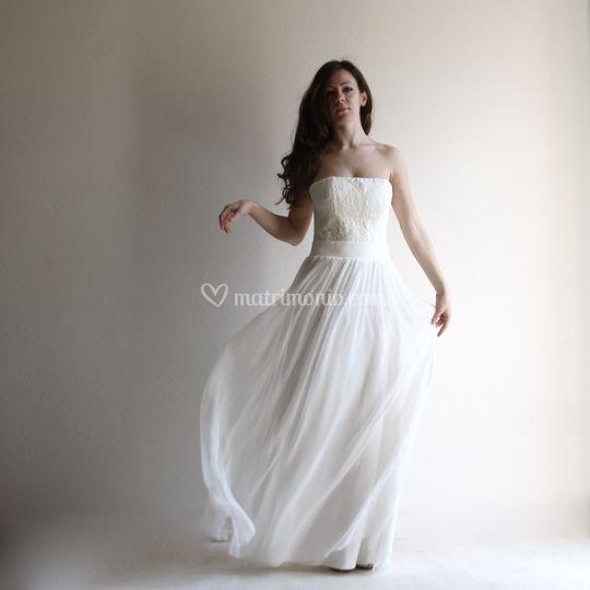 Completo da sposa Leda & Swan