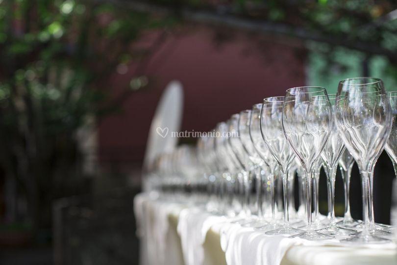 L'aperitivo di benvenuto