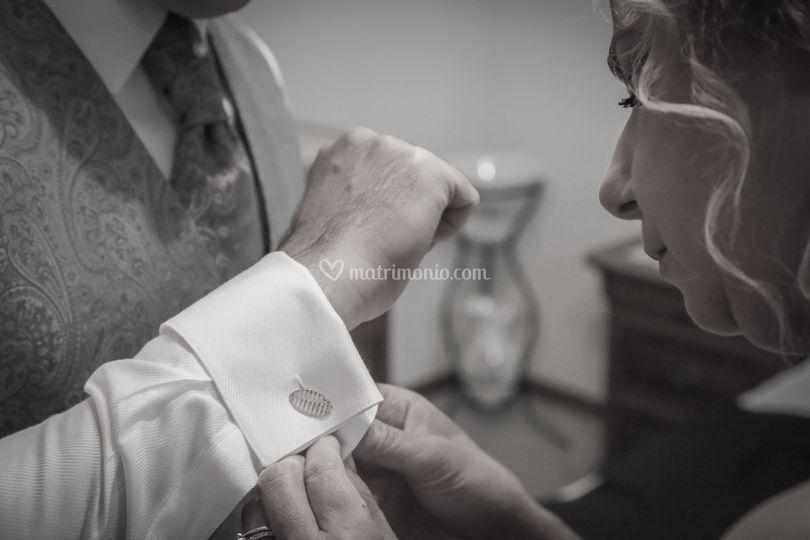 Vestizione dello sposo