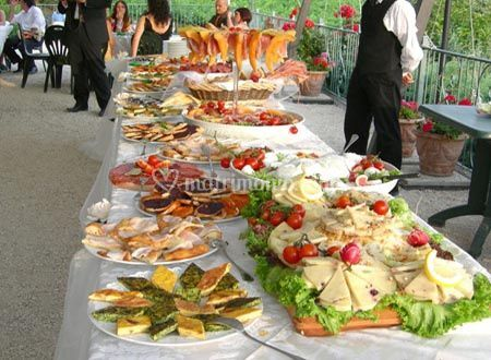 Buffet antipasti