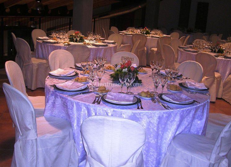 Tavoli in bianco