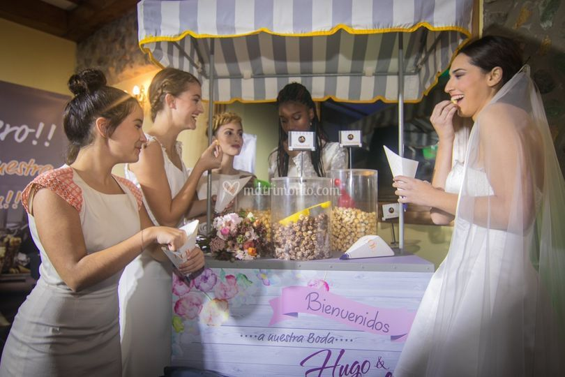 Matrimonio con FOL Popcorn
