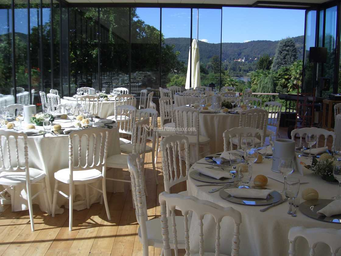 Al Giardino Ancona evento nel giardino d'inverno di villa borghi hotel